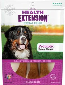 Health Extension Large Probiotic Dental Chews 3pk *REPL 587076