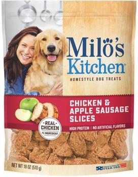 Milo's Kitchen Chicken And Apple Dog Treats 4/18z