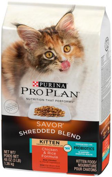 Pro Plan Chicken/Rice Kitten 6/3lb