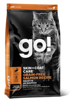 Petcurean Go! Skin & Coat Care Grain Free Salmon Recipe for cats 3lb C=6