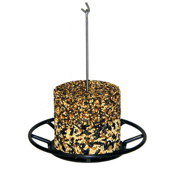 Attract a variety of birds with birdola multi-bird stacker cakes. Blend of black oil sunflower, white proso millet, peanut hearts, safflower and peanuts is highly palatable to almost any wild bird. Cakes are available in several unique blends, so you can attract different types of birds with the same feeder. Stack up to three cakes on one feeder. Made in grand rapids, michigan.