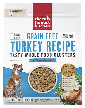 We believe that fresh, clean ingredients with minimal processing provide pets the best nutrition possible. Created with a veterinary nutritionist, these 100% human grade clusters are made with real whole foods. They?re mixed in small batches, cold pressed, slow roasted and dehydrated. Purchase at My Pet Naturally.