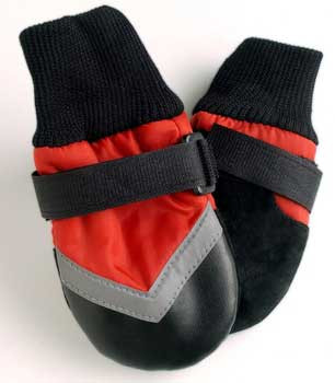 Spot Lookin' Good! By Fashion Pet Extreme All Weather Boots Red In X Small