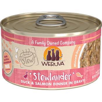 WERUVA CAT STEW! STEWLANDER DUCK & SALMON 2.8OZ