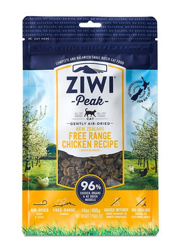 Simple and pure, Ziwi gives your kitty the best of New Zealand! Using a gentle twin-stage air-drying process, they naturally preserve all the ingredients, which also eliminates pathogenic bacteria. There?s no need to rehydrate since the air-dried food contains more moisture than dry kibble?and because there?s also no need for preservatives, sugars and glycerines, the food is safe, clean and easy to handle. In fact, it?s just as nutritious and digestible as a completely raw diet, in the convenient form of air-dried food.