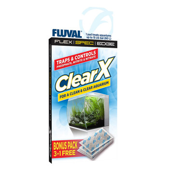 Fluval Clear X Filter Pillow A1336 4 Pack{L+7}