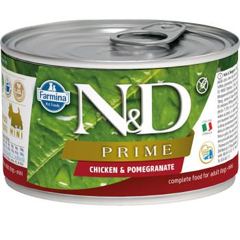 FARMINA DOG GRAIN FREE PRIME CHICKEN POMEGRANATE 4.9OZ