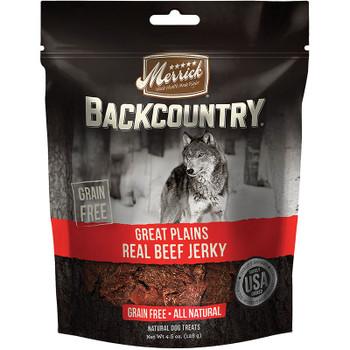 MERRICK DOG BACKCOUNTRY BEEF JERKY 4.5OZ