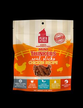 Plato Mini Thinkers Chicken Dog Treat Recipe 3oz