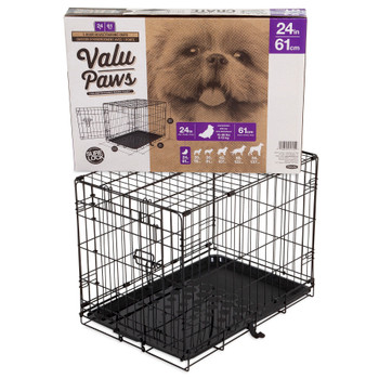 Doskocil Petmate Kennel Training Value Paws 24in{L-2}