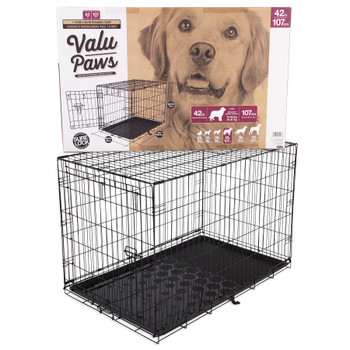 Doskocil Petmate Kennel Training Value Paws 42in{L-2}