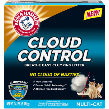 Breathe easy with No Cloud of Nasties when cleaning the litter box: 100% Dust Free.   Dander Stays in the Litter Box when scooping.  7 Day Odor Control Guaranteed
