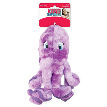 Kong Soft Seas Octopus Large Dog Toy