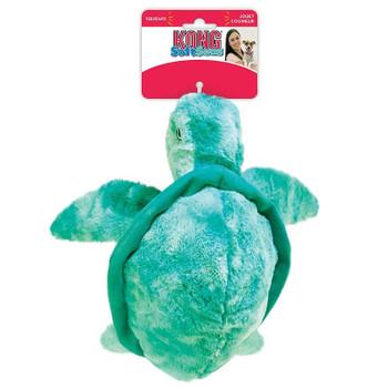 Kong Soft Seas Turtle Large Dog Toy