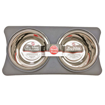 Ethical Spot Bowls New Wave Double Diner Gray .5pt