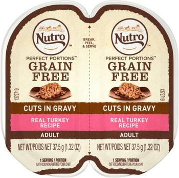 Nutro Perfect Portions Turkey Cat 24/2.65z