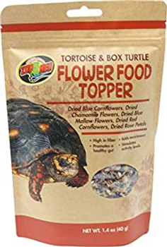 Flowers are a natural diet item for many herbivorous and omnivorous tortoise species and can be fed to Sulcata, Russian, Pancake, Marginated, Leopard, Greek, Hingeback, Hermann #;s, Star, Desert, Forsten #;s, Red Food and Box Turtles. Flowers provid