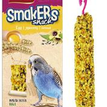 A& E Vitapol Smakers Parakeet Twin Pack Treat Stick - Egg 2 pack
