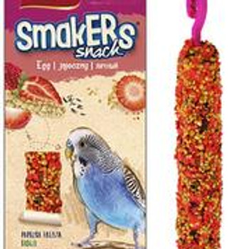 A& E Vitapol Smakers Parakeet Twin Pack Treat Stick - Strawberry 2 pack