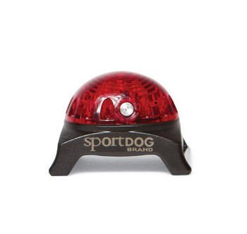 The Locator Beacon is the easy, affordable way to keep track of dogs at night or in low light. This compact and versatile safety light can be used for everything from finding hounds during night hunts to providing added visibility - and peace of mind - during evening strolls with canine companions. The Locator Beacon provides up to 250 hours of on-time and can be set to either constant ON or FLASHING. The locator light includes a handy carabiner clip for attaching to a collar D-Ring, backpack strap, belt loop, or any collar strap up to 1 inch wide.