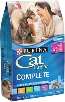 Cat Chow Complete 4/3.15lb *REPL 178002