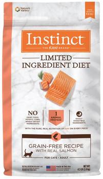 Nature's Variety Instinct Limited Ingredient Diet Grain-Free Salmon Cat 4.5lb C=4