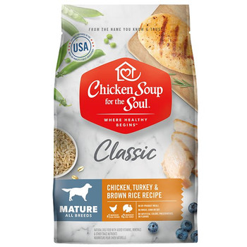 At Chicken Soup for the Soul, we know how important food is for your pets well-being. Thats why we formulated Chicken Soup for the Soul dog and cat food to give your pet premium nutrition so that they can stay happy, healthy, and well.