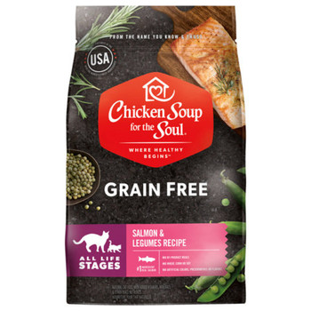 <p>Real Salmon #1 Ingredient. No by-product meals. No wheat, corn or soy. No artificial colors, preservatives or flavors. Lovingly prepared in the USA with the world's finest ingredients.</p>