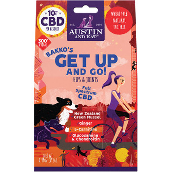 AUSTIN & KAT DOG GET UP AND GO 10MG 6.6OZ
