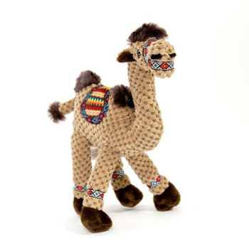 """Enrich your dogs life with friends from the globe with the fabdog Floppy Friends Dog Toy Camel! Pineapple plush fabric 5 Squeakers Polyfill center Why We Love It: Your darling dog deserves a fabdog Floppy Friends Dog Toy to play with for hours! With this plush floppy Camel, your puppy will never run out of occasions to play--and you'll get a much needed break from gnawing on your fingers. Multiple squeakers will keep them entertained. Made with a pineapple plush material and polyfilled. Spot clean with soap and water. Check out the full line of fabdog Floppy Friends of all sizes and animals! Sizing Information: Small is 8"""" x 3.5"""" x 11"""" Large is 13.5"""" x 3.5"""" x 15.5"""" XL is 15.5"""" x 4.5"""" x 16.75"""""""