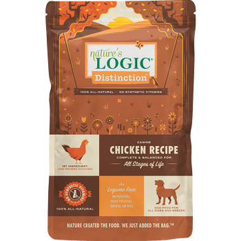 NATURE'S LOGIC DOG DISTINCTION CHICKEN 24LB
