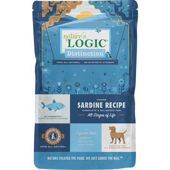 NATURE'S LOGIC DOG DISTINCTION SARDINE 4.4LB