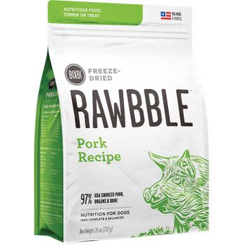 RAWBBLE DOG FREEZE-DRIED PORK 4.5OZ