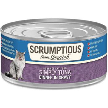 SCRUMPTIOUS CAT TUNA GRAVY 2.8OZ