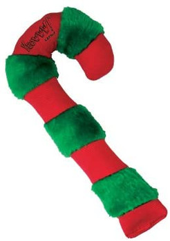 "Be sure to put a Yeowww! Candy Cane catnip toy in your favorite feline's stocking. The bright red and green candy cane measures over 8"" of pure catnip delight! USA made cat toy from only the finest and most potent catnip."