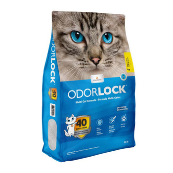 Intersand Odorlock Cat Litter Unscented 25lb Bag with Handle