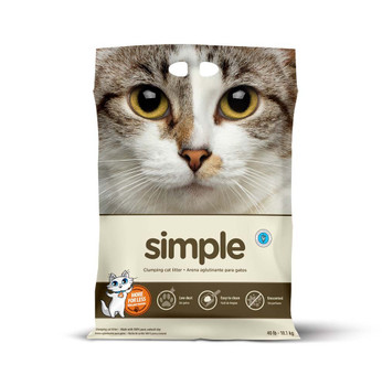 Intersand Simple Cat Litter 40lb Bag