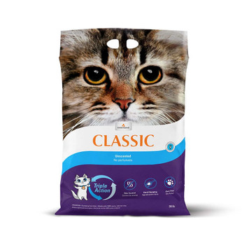 Intersand Classic Cat Litter Unscented 30lb Bag