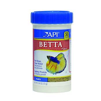 API Betta Flake Fish Food .36oz