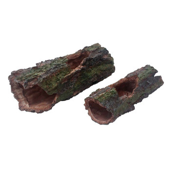Komodo Forest Log Reptile Ornament Large