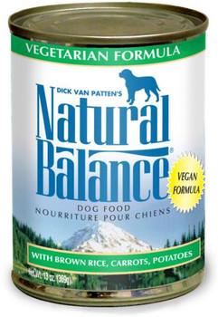 Natural Balance Vegetarian Can Dog 12/13 oz.