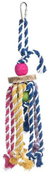 These new toys provide shreddable, pluckable materials to pick apart - great for nesting or everyday foraging/seeking instincts. Several toys may be replenished with our Coco Bedding - sterilized 100% natural coconut fibers in a new bulk size. All colors are 100% safe non-toxic FD&C-approved coloring; all materials are 100% natural - wood, roots, cotton, grasses, papers, and sterilized coconut fibers. All toys are handmade from natural materials
