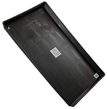 Easy to clean black plastic replacement pan