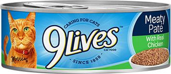 9Lives Ground Chicken Dinner 24/5.5 Cans