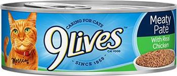 9Lives Ground Chicken Dinner 24/5.5 Cans
