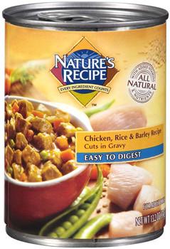Nature's Recipe Easy-To-Digest Lamb Chunk 12ea/13.2oz