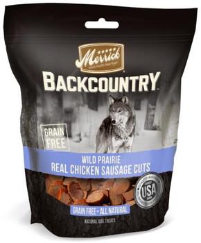 Merrick Backcountry Wild Prairie Real Chicken Sausage Cuts 5Z C=6