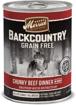 Merrick Backcountry Chunky Beef 12/12.7Z