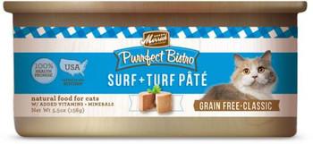 Merrick Purrfect Bistro Surf and Turf 5.5 oz Cat