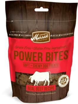 Merrick Power Bites Real Texas Beef Recipe 6/6oz
